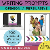5th Grade Writing Prompt | Persuasive Opinion Writing | Go