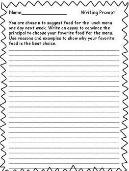 5th Grade Writing Prompts: Test Prep by Lessons For The ...