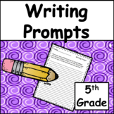 5th Grade Writing Prompts: Test Prep