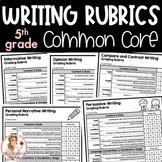 5th Grade Writing Rubrics   Common Core Aligned