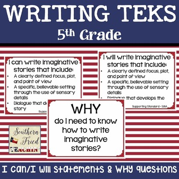 5th Grade Writing TEKS