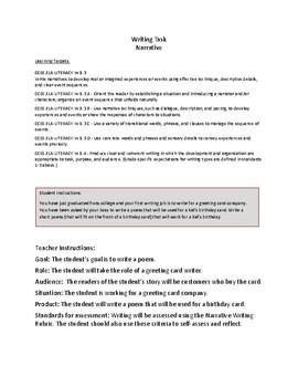 5th Grade Writing Tasks