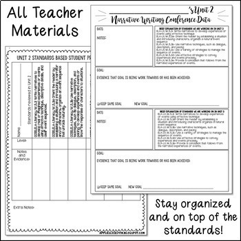 2nd grade common core narrative writing units ebook array 5th grade narrative writing unit 2 6 weeks of ccss aligned lesson rh teacherspayteachers fandeluxe Images