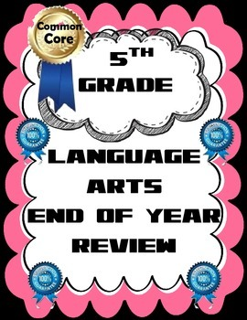 CCSS Fifth Grade Language Arts Worksheets