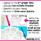 5th Grade Year-Long Exit Slips Bundle *All Math TEKS*