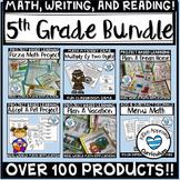 5th Grade Back To School Full Year No Prep Bundle