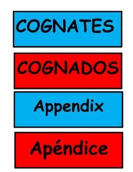 5th Grade cognates