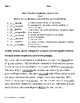 5th GradeMcGraw Hill Wonders Unit 5   Vocabulary Tests Weeks 1-5