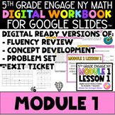 5th Math Digital Workbook Engage NY Module 1 - Distance Le