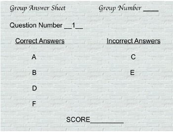 5th Math Review Game, Multiple Answer Challenge, TCAP Reivew (powerpoint)