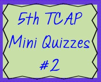 5th Math TCAP Mini Quizzes #2