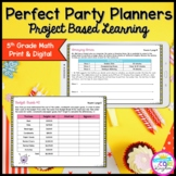 5th Perfect Party Planners Project Based Learning - Printa
