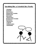 5th Science STAAR Academic Vocabulary Words