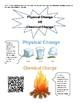 5th Science Mini Anchor Charts
