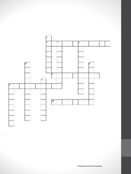 5th Suffix Crossword Puzzle