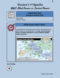 Distance Learning 5th Grade History Standard 5.11 - World