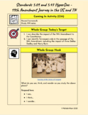 Distance Learning 5th Grade History 5.09 & 5.47 HyperDoc: