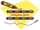 5th and 6th Grade Halloween Math