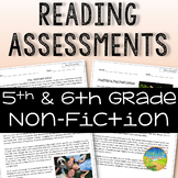 5th and 6th Grade Reading Comprehension Assessments