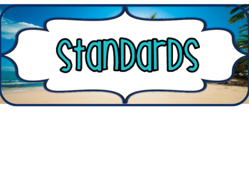 5th and 6th Grade SOUTH CAROLINA Math Beach Standards