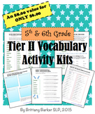 5th and 6th Grade Tier 2 Vocabulary Kits