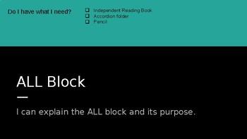 5th grade ALL Block Module 1 Unit 1 Lesson 1 EL 2nd Edition