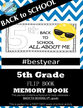5th grade BACK TO SCHOOL /FIRST DAY - Flipbook