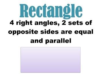 5th grade CCSS Math Vocab ~ Geometry