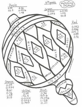 5th grade Christmas Winter December January Math Art