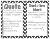 5th grade Common Core Reading/ELA Vocabulary Cards