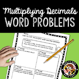 5th grade Decimal Word Problems - Close Reading!