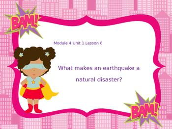 Engage NY Grade 5 ELA Module 4 Lesson 1 Natural Disasters