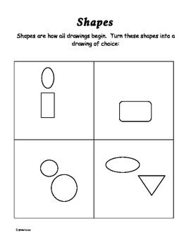 Fifth grade Elements of Art Book