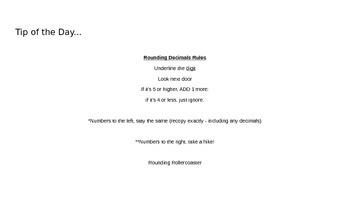 5th grade EnVision Math Topic 2 / Lesson 1 & 2 PPP Lesson