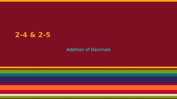 5th grade EnVision Math Topic 2 / Lesson 4 & 5 PPP Lesson