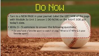 5th grade Engage NY Module 3a Unit 1 Lesson 1