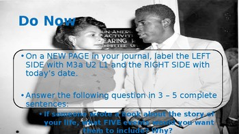 5th grade Informational Text Activity: Engage NY Module 3a Unit 2 Lesson 1
