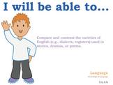 5th grade English Common Core Posters Fifth Grade Standards