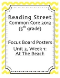 5th grade Focus Wall, Unit 2, Reading Street 2013