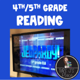 ELA/Reading Jeopardy Review Game