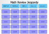 5th grade Math Jeopardy Powerpoint game NBT.2.5 NBT.2.6 NF.2.3 OA.1.1 OA.1.2