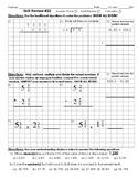 5th grade Math Cumulative Skill Review 22