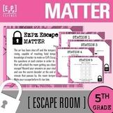 Matter Escape Room- 5th Grade Science Escape Room