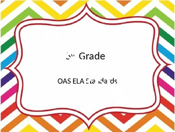 5th grade OAS standards bundle