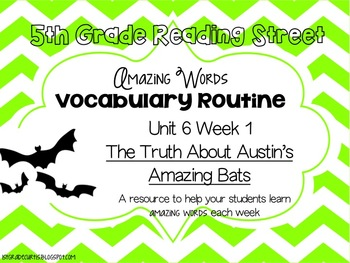 5th grade Reading Street Unit 6 Week 1: The Truth About Au
