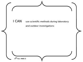 5th grade Science TEKS