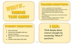"""5th grade Science Year-in-Review """"What If"""" Task Cards"""