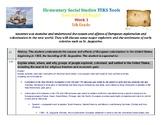 5th grade- Studies Weekly Elementary Social Studies TEKS T