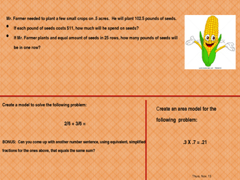 5th grade Texas Math TEKS spiral and review 3rd 6 weeks