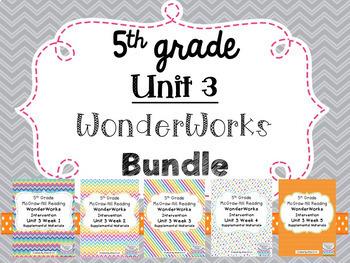 5th grade Unit 3 WonderWorks Supplement -BUNDLE!!